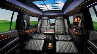 "2015 Cadillac Escalade ESV 9"" Stretch 6"" Long Door Limo CEO Limousine by Quality Coachworks"