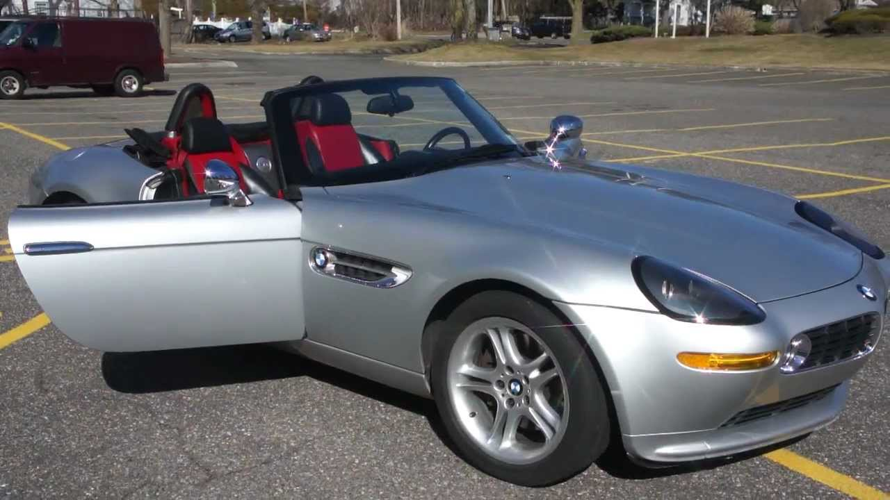 2001 Bmw Z8 Roadster For Sale 2 Owners Low Miles Beautiful Car