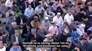 HD Freitagsansprache 01.09.2017 – Eindrücke und Rückblick der Jalsa Salana Deutschland 2017