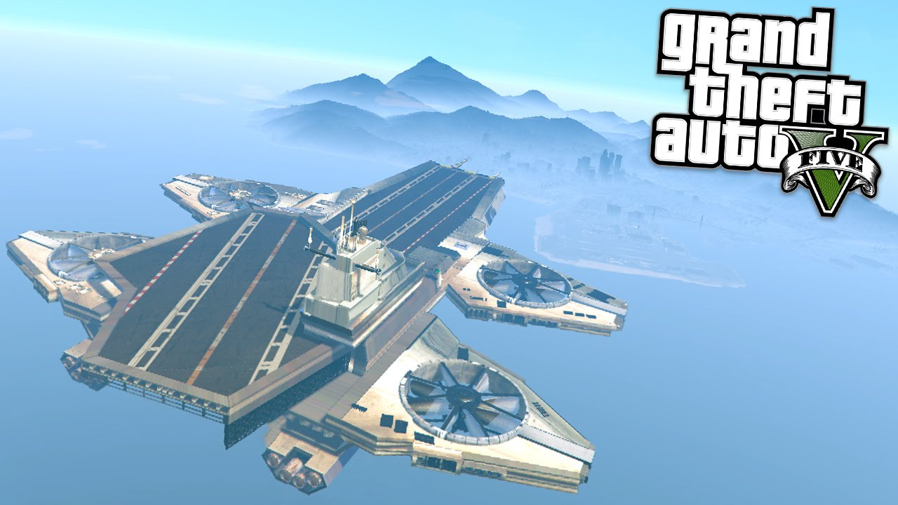 epic shield helicarrier gta 5 mods showcase youtube