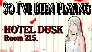 So I've Been Playing: HOTEL DUSK [ Review DS ]