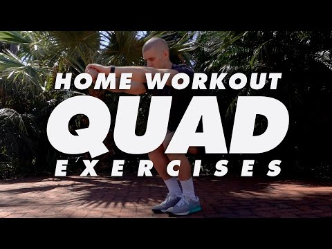 At Home Quads Workout Exercises | In The House With Team MassiveJoes