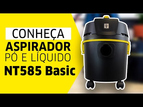 Aspirador NT 585 Basic Kärcher - Versatilidade na limpeza