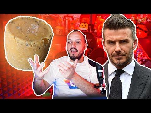 Fabrican queso de los pies de David Beckham y prepárense para el fake nopor - Wefere NEWS