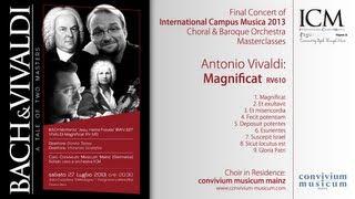 ICM Polignano - Final Concert - ICM & convivium musicum mainz: Antonio Vivaldi - Magnificat (RV 610)