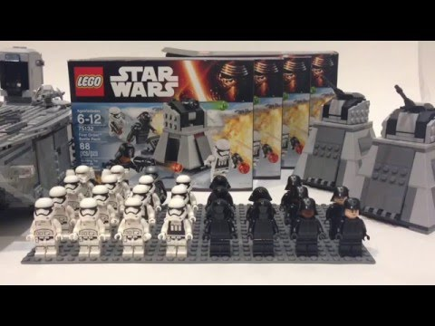 How To Build a Lego First Order Army - YouTube