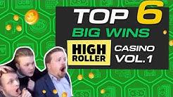 TOP 6 big wins @ HighRoller Casino online slot