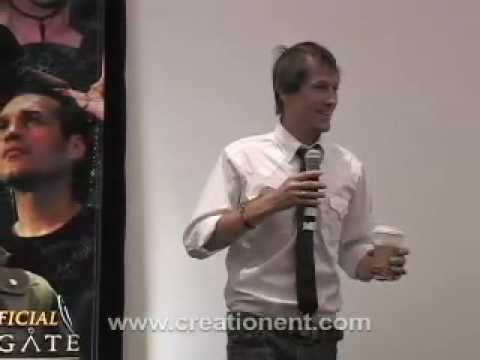 Corin Nemec at Stargate Convention 2007
