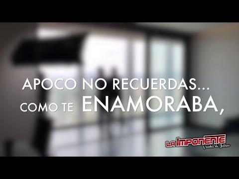 La Imponente Vientos de Jalisco - Apoco No Recuerdas (Video Lyric)