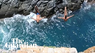 Acapulco cliff divers risk their lives to drive tourism