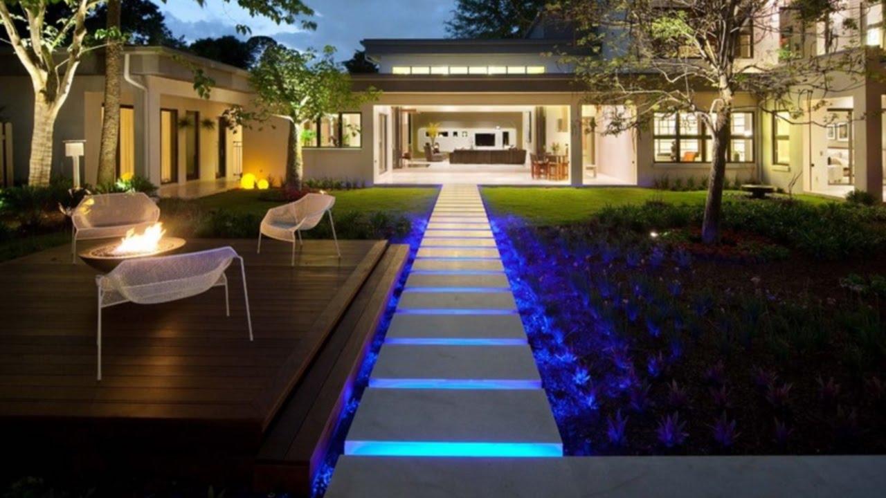 41 landscape lighting ideas