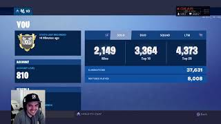 TOP CONSOLE PLAYER // 2800+ WINS // FORTNITE BATTLE ROYALE
