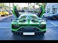 Lamborghini Aventador SVJ BEAST ARRIVAL to Lamborghini Miami Start Up & Drive FIRST IMPRESSION