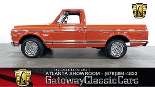 1969 Chevrolet C10 - Gateway Classic Cars of Atlanta  #483