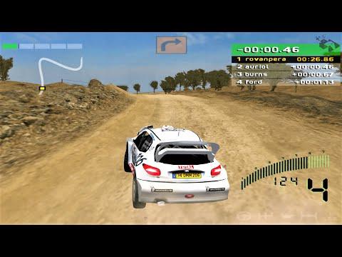 WRC: World Rally Championship (2001) - Kenya Rally | PS2 4K Gameplay