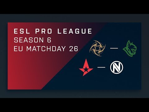 CS:GO: NiP vs. Heroic | Astralis vs. EnVy - Day 26 - ESL Pro League Season 6 - EU Main Stream thumbnail