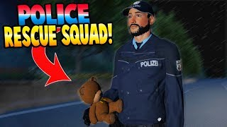 POLICE RESCUE SQUAD! SAVING THE DAY! - Autobahn Police Simulator 2 Gameplay - COPS AND ROBBERS GAME