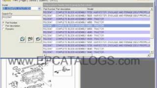 John Deere Parts catalog