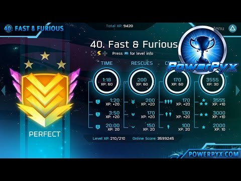 Velocity 2X - Perfect Medal Walkthrough Level 31-40 (FuturLab Certified Trophy Guide)