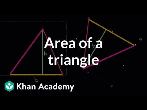 Area of triangles intuition | Algebra I | High School Math | Khan Academy