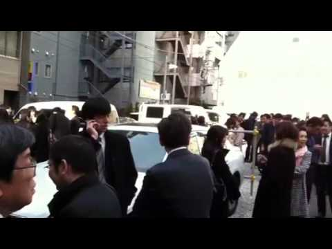 Evacuation After Great Tokyo Earthquake