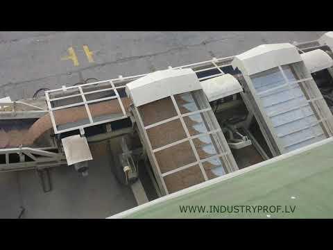 belt type wagon unloader - 500 m3/h / Установка разгрузки вагонов - хопперов - 500 m3/час