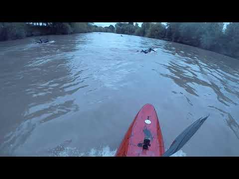 Severn Bore Maisemore Weir Rebound Wave September 12th 2018