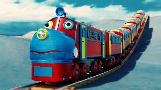 Lego Thief Fail movie - lego police thief cartoon for kids - choo choo train kids videos