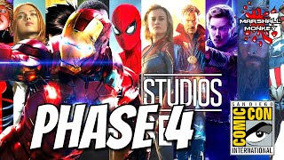 Kevin Feige Confirms Phase 4 For The MCU - Comic Con 2019