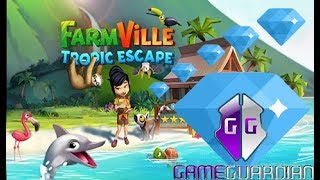 Como Ter Muito Diamantes no FarmVille Tropic Escape