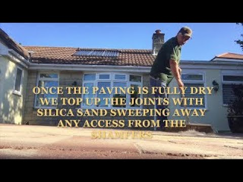 How to resin seal  your new driveway paving