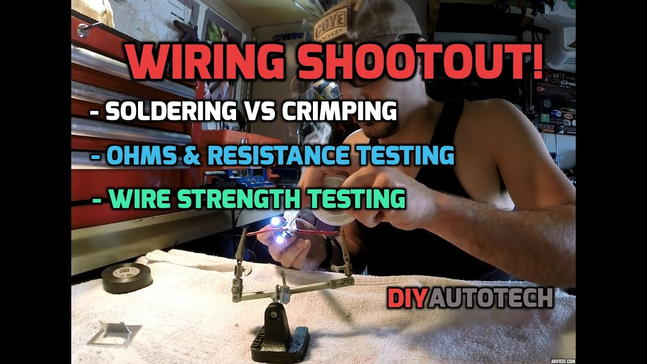 Best Wire Soldering And Crimping For Automotive Repair - Ultimate ...