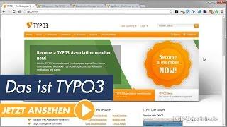 TYPO3 Tutorial - Das ist TYPO3 (CMS) Teil 01 (deutsch)