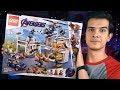 LEGO Мстители 4 - БАЗА МСТИТЕЛЕЙ (76131)