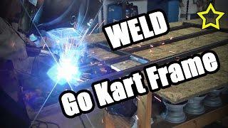 How To Make a Go Kart Frame: Go Kart Frame Plans