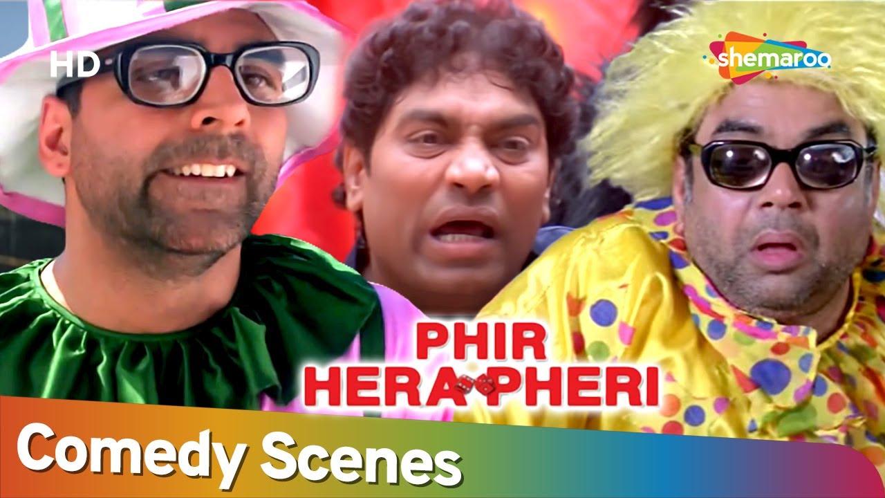 अक्षय कुमार ने 50 लाख के लिए बेचा अपना बंगला | Phir Hera Pheri | Best Comedy Scenes | Superhit Movie