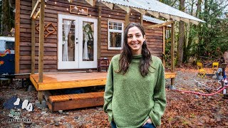 Incredible Tiny Home In The Forest - Tiny House Tour In 4k