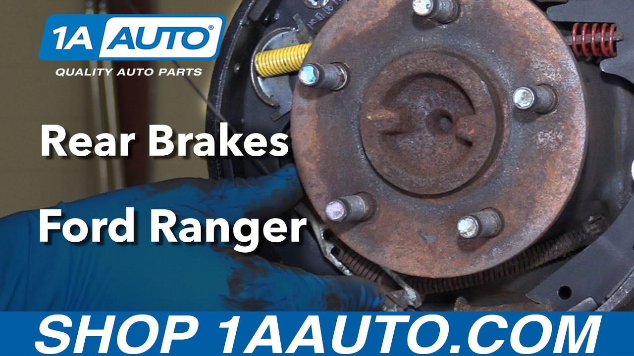 How to Install Replace Rear Drum Brakes 199509 Ford