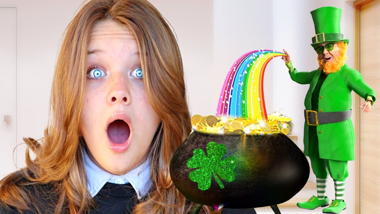WE found a REAL LEPRECHAUN in OUR HOUSE!