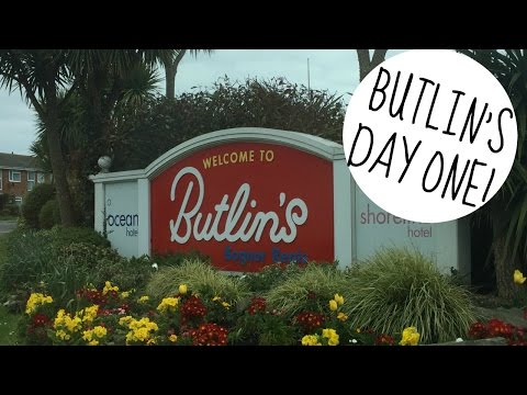 BUTLINS BOGNOR REGIS 2016   DAY ONE