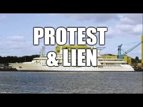 Maritime protest & lien