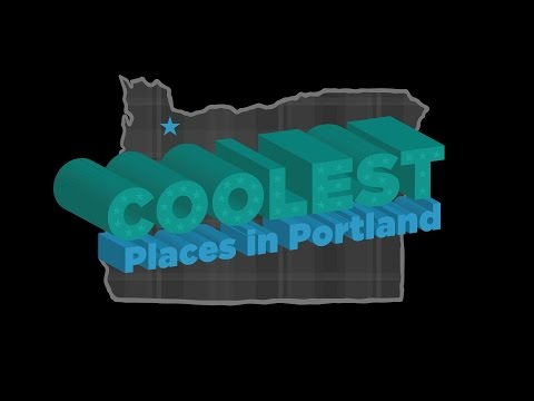 Coolest Places in Portland :: Jimmy and Nettaly