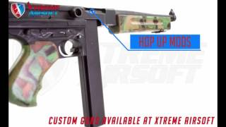 Custom Guns are available at Xtreme Airsoft