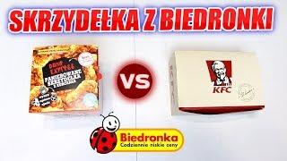 TEST SKRZYDEŁKA Z BIEDRONKI VS KFC