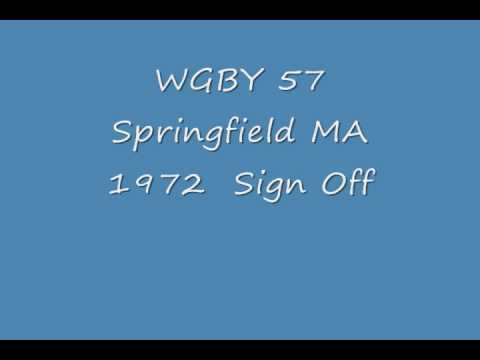 WGBY 57 Springfield MA  1972  Sign Off thumbnail