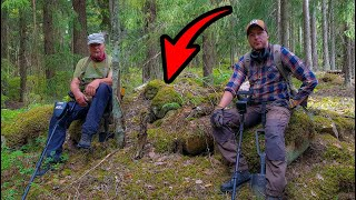 DID WE JUST FIND A VIKING BURIAL MOUND!? - metal detecting Finland