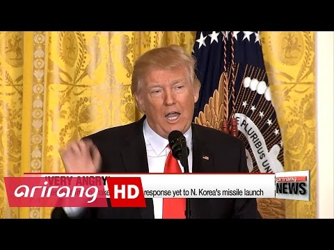 President Trump 'very angry' at North Korean missile launch