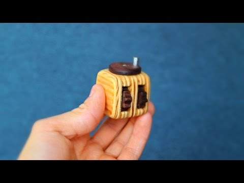 How To Make Your Own Fidget Cube Youtube