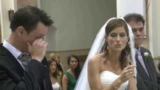 Novia canta al novio y emociona a toda la iglesia - Bo