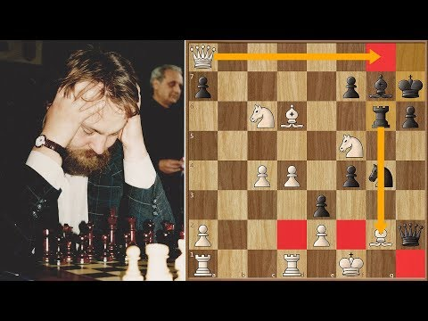 Yusupov's Immortal Game against Vassily Ivanchuk